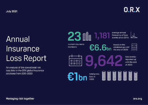 ORX Annual Insurance Loss Report_front cover